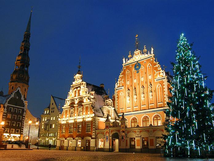 Escapade Saint-Sylvestre à Riga