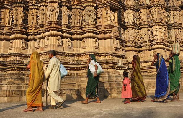 Circuit sur les pas de bouddha inde du nord et rajasthan for Vol interieur inde
