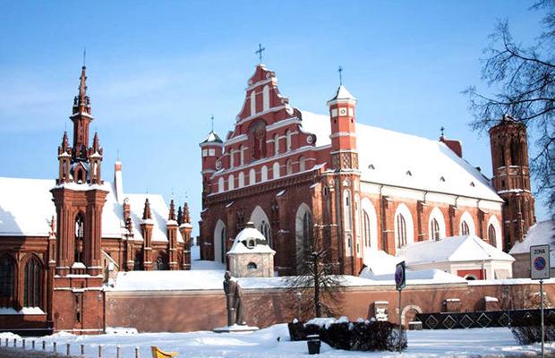Escapade Saint-Sylvestre à Vilnius