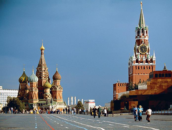 Croisière dans la sainte Russie