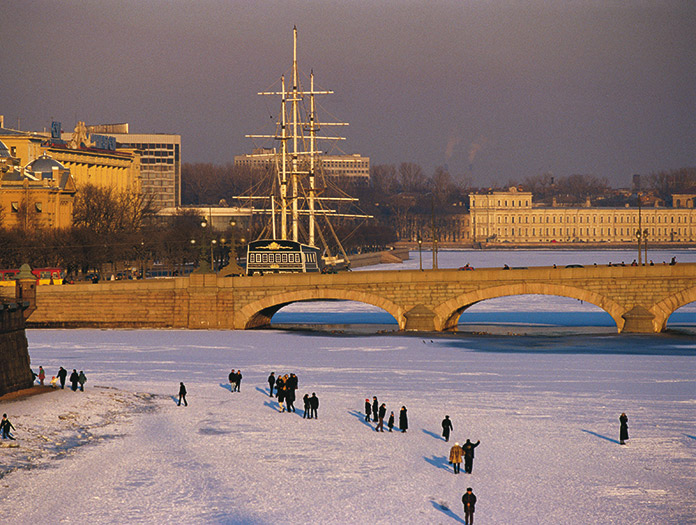 Escapade Marché de Noël à Saint Pétersbourg