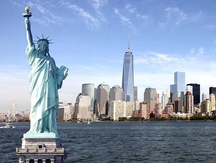 Circuit new york fun for Createur statue de la liberte