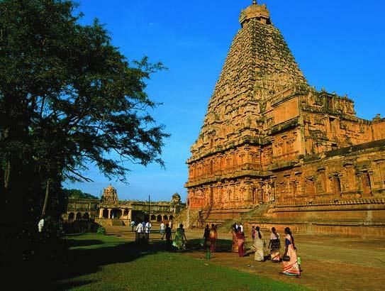 Le temple de Tamil Nadu