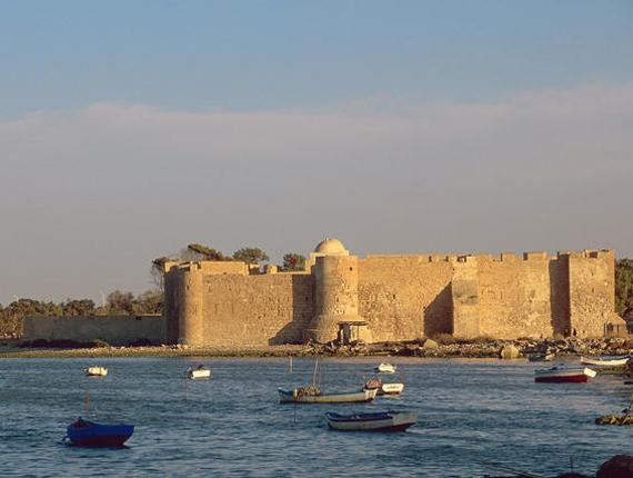 Bordj el Kebir sur l'île de Djerba