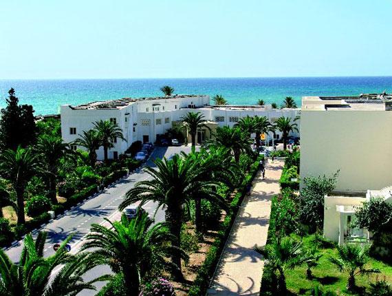 Une vue aérienne de votre hôtel Omar Khayam