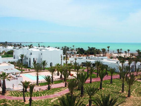 Vue générale de l'hôtel Riu Palm Azur